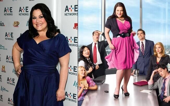Brooke Elliott disse que a TV começa a representar as pessoas normais