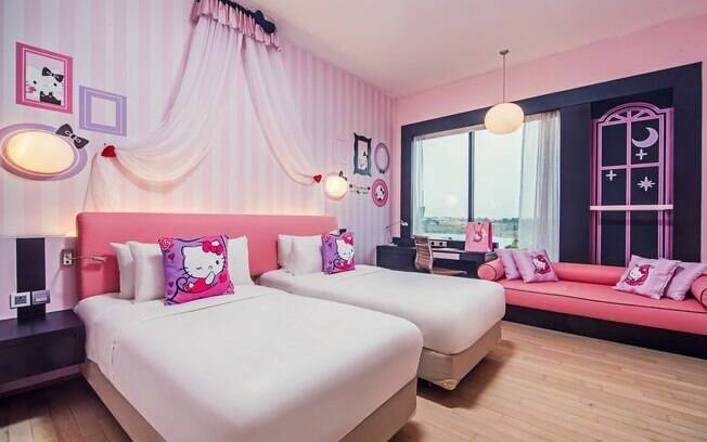 Hotel Jen Puteri Harbour, Johor Bahru, está entre as hospedagens mais chamativas da Malásia por ter quarto temático