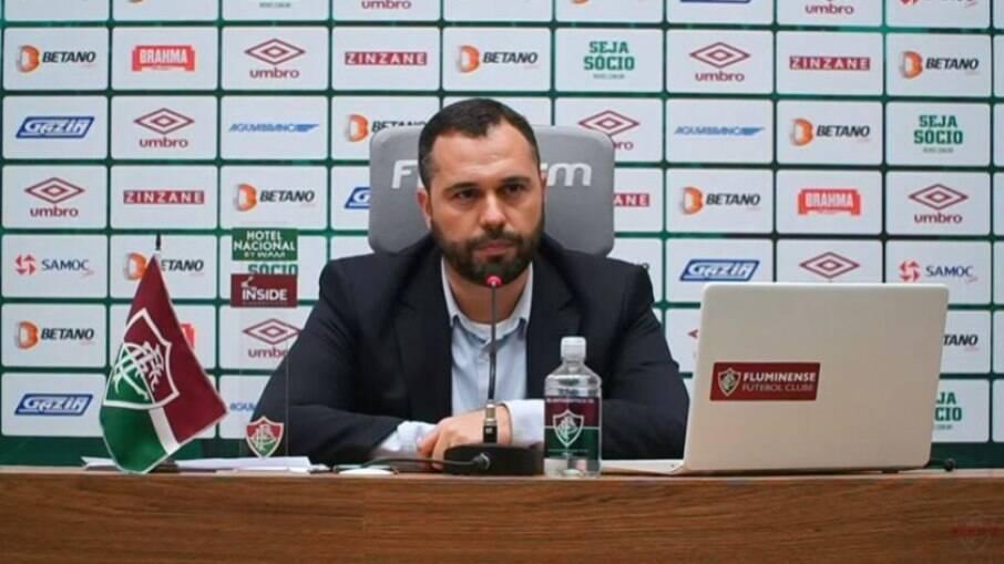 Mário Bittencourt, presidente do Fluminense