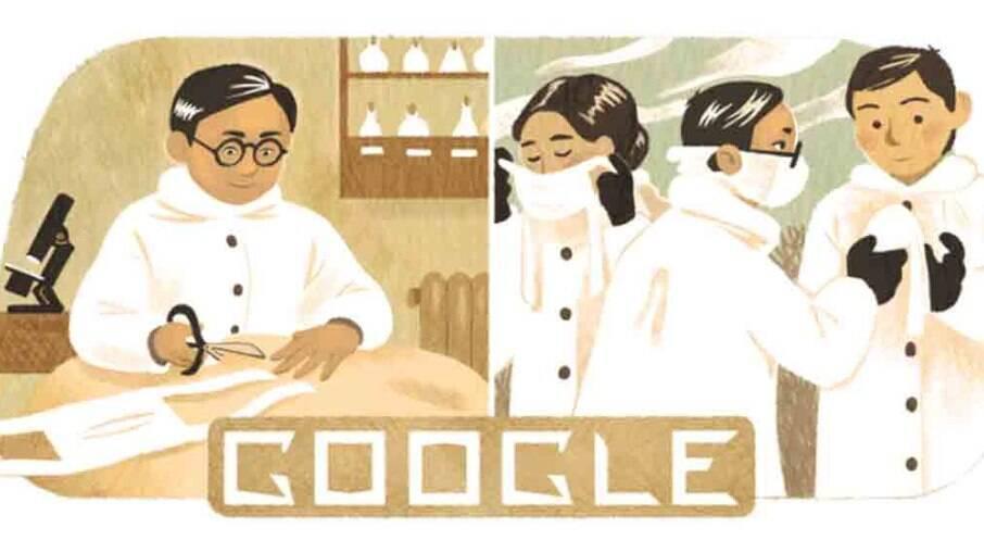 Google homenageia o epidemiologista Wu Lien-teh, inventor da máscara N95