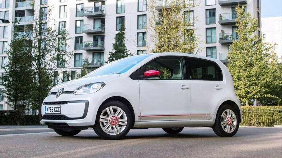 Volkswagen Up! Beats vem com sistema de som de 300 watts de potência, algo sofisticado para um subcompacto no Brasil