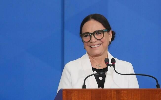 Regina Duarte,secretária especial de Cultura