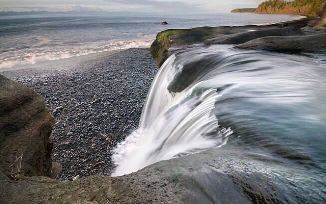 Sandcut Beach é um paraíso desconhecido até por muitos moradores da Ilha de Vancouver