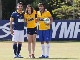 Cruzeiro apresentou o seu terceiro uniforme nesta manhã de sexta-feira