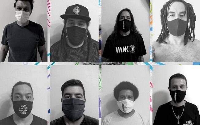 João Suplicy e integrantes da banda