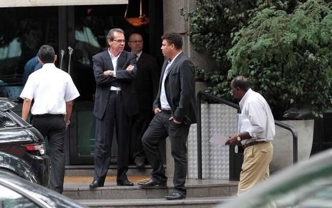 Amado, presidente da Ogilvy no Brasil, é  sócio de Ronaldo na 9ine, empresa que agencia de  jogadores de futebol