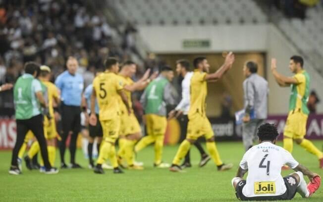 Corinthians foi eliminado pelo Guaraní do Paraguai