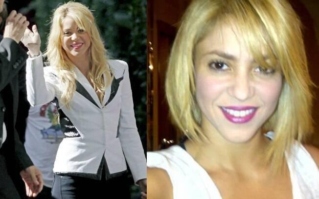 Shakira apresentou seu novo corte de cabelo