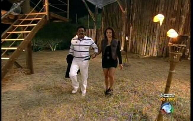 Compadre Washington escapa e Taciane Ribeiro deixa jogo