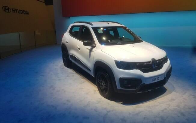 Renault Kwid Outsider do Salão do Automóvel 2018 chega no primeiro semestre de 2019, com certo apelo aventureiro