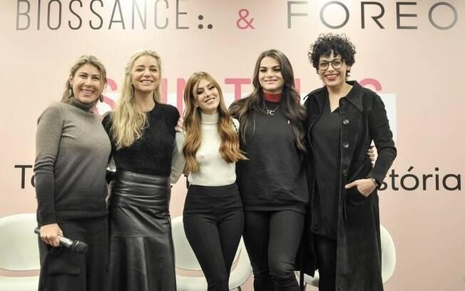 O evento Skin Talks teve a presença de Lígia Dantas, Maria Fernanda Tembra, Mari Maria, Rômulo Cricca e Fabiana Gomes