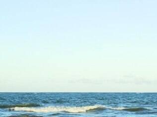 """Filme-cenário """"Mar"""" é exibido durante a apresentação do sexteto"""