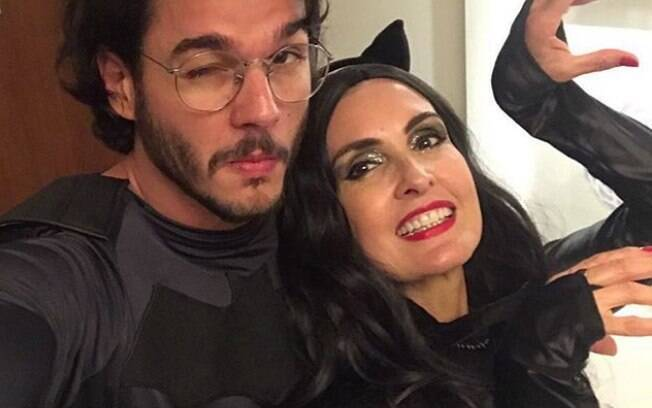 Fátima Bernardes e seu namorado Túlio Gadelha