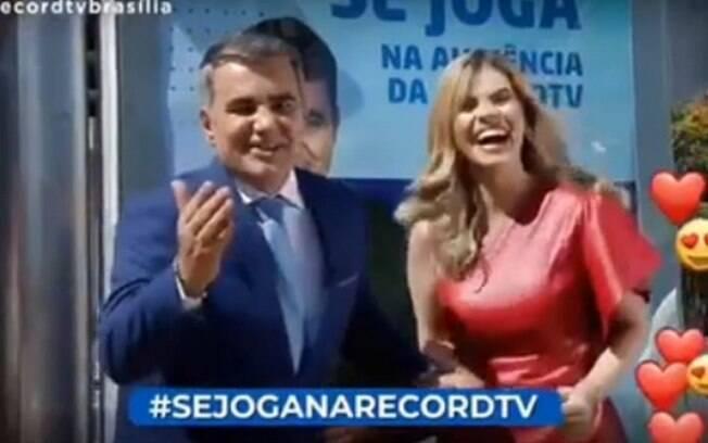 cena da Record TV