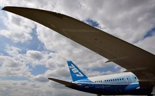 Boeing está perto de resolver problemas da bateria do 787, diz fonte - Home - iG