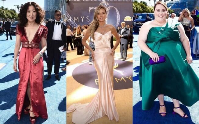 Antes de copiar qualquer um dos looks das famosas no Emmy 2018, veja o que mais combina com a sua personalidade