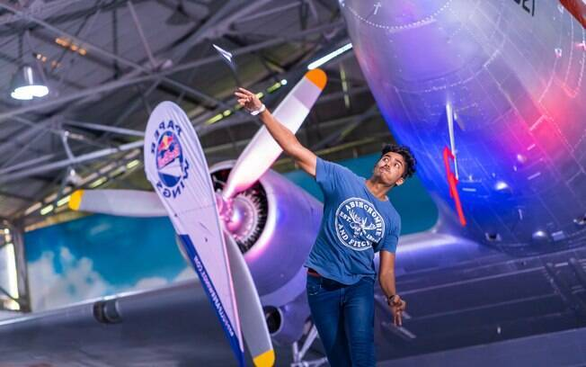 O Brasil já foi campeão em duas oportunidades do Mundial de avião de papel, ambas na categoria 'tempo de voo'