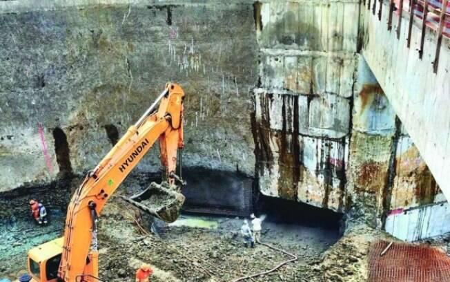 Obras da Linha 6 foram suspensas em 2016