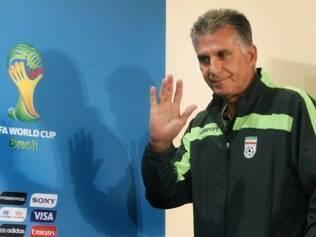 O técnico Carlos Queiroz está feliz em ver que a Copa do Mundo está sendo jogada no país do futebol