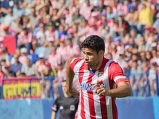 Diego Costa voltou a ser uma esperança para o Atlético de Madrid conquistar o título inédito