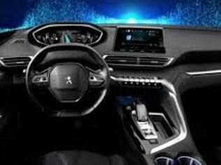 Imagem vazada do interior do novo 3008 revela como será o estilo futurista