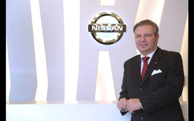 Ronaldo Znidarsis, vice-presidente para as áreas de marketing e vendas da Nissan do Brasil