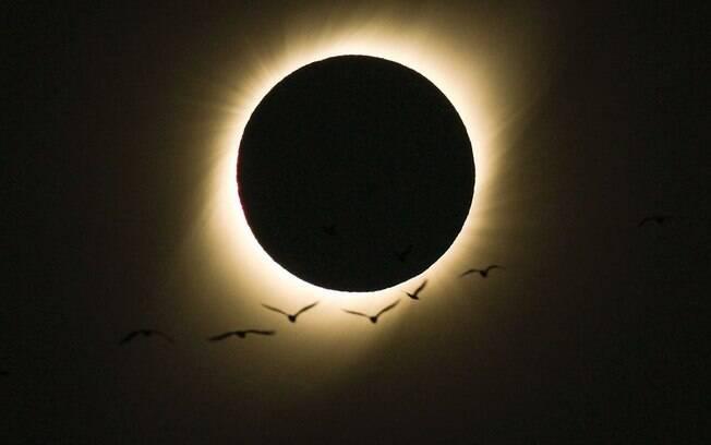 Eclipse registrado por Leonardo Caldas