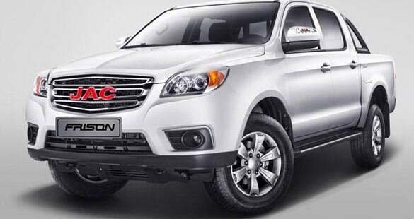 JAC Motors terá picape média no Brasil a partir do início do ano que vem