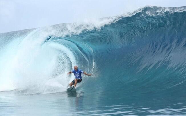 Kelly Slater, um dos maiores nomes do surfe