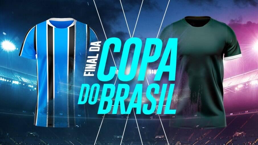 Grêmio e Palmeiras duelam na final da Copa do Brasil