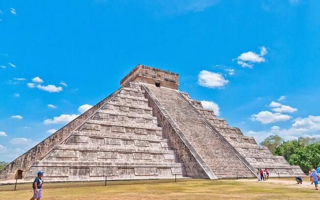 A Pirâmide de Kukulcán é uma das atrações do México
