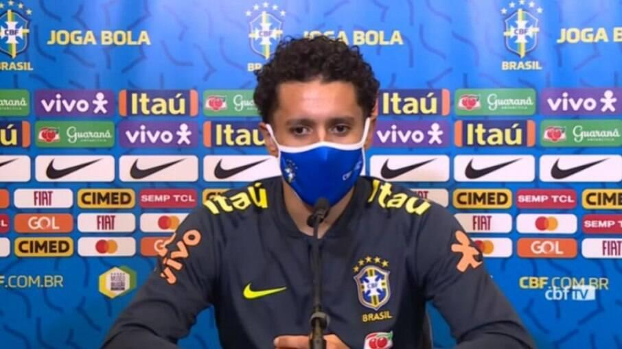 Marquinhos, zagueiro do PSG e da Seleção Brasileira