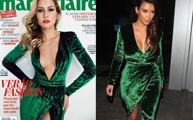 Sabrina Sato x Kim Kardashian: quem vestiu o Gucci melhor?