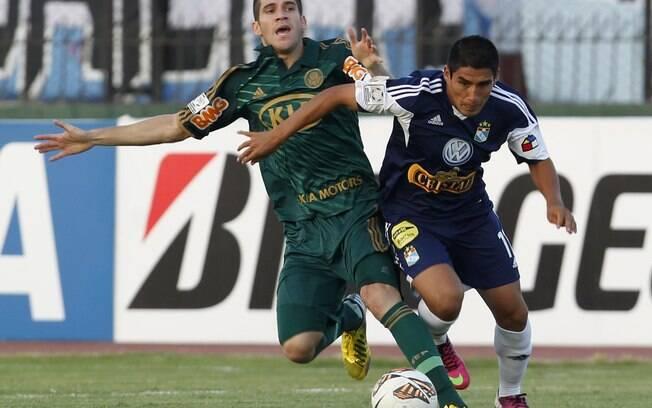 Marcelo Oliveira sobre falta em jogo contra o  Sporting Cristal