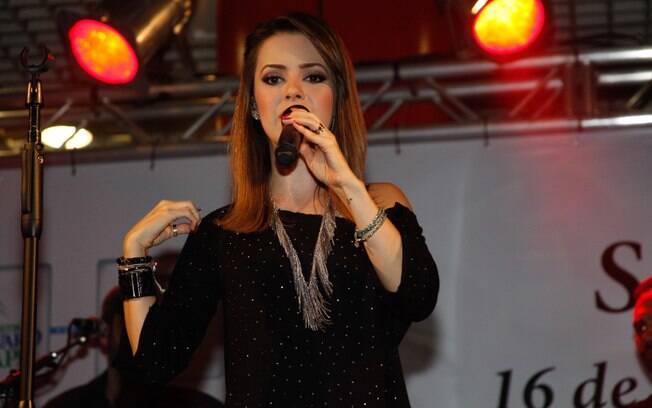 Sandy no palco