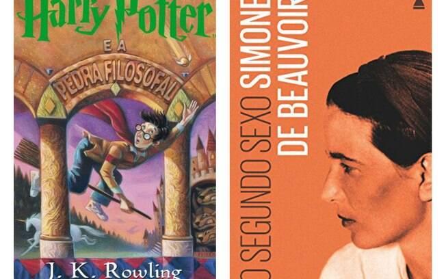 J K Rowling, Simone de Beauvoir e outras obras memoráveis escritas por mulheres