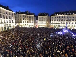 Manifestação, que reuniu 3,7 milhões de pessoas nas ruas de Paris no domingo (11), contou com a presença de 40 líderes mundiais