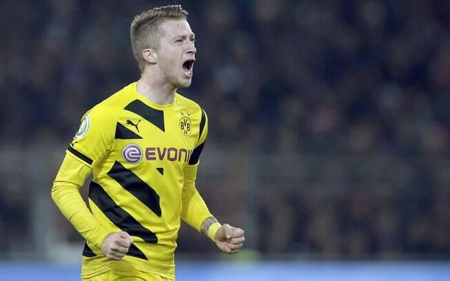 Marco Reus é a esperança do Borussia Dortmund