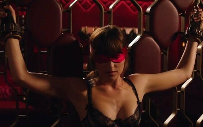 Dakota Johnson fala sobre as cenas de sexo em