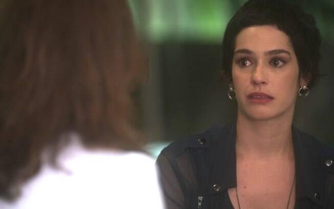 Flavia (Maria Flor)  em 'A Lei do Amor'