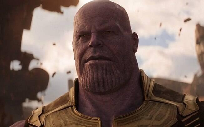 Thanos é o grande vilão de