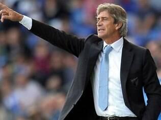 Pellegrini tem feito um bom trabalho no comando do Manchester City