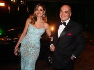 Luciana Gimenez e Marcelo de Carvalho