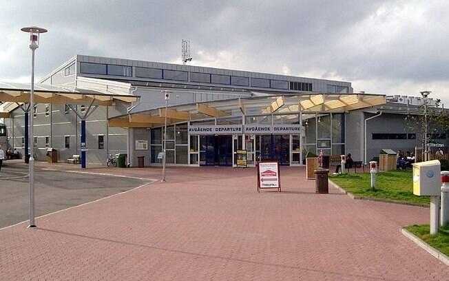 Stockholm Skavsta Airport, usado para transporte de carga e companhias aéreas de baixo custo