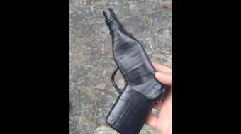 Foragido simula arma de fogo com desodorante e é preso