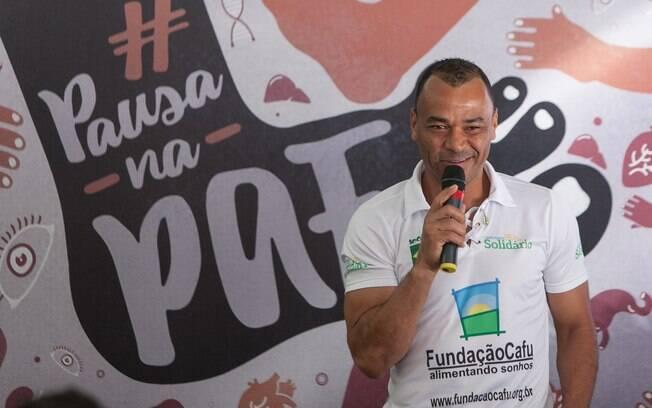Ex-jogador Cafu foi escolhido como embaixador da campanha que pretende conscientizar população sobre a doença