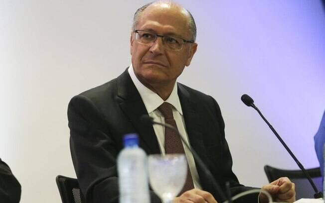 Durante o GovTech, Alckmin destacou ser favorável a parcerias público-privadas para o desenvolvimento de sistemas de tecnologia para a sociedade