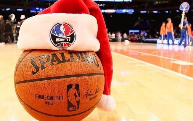 A rodada de Natal da NBA acontece desde 1947