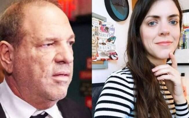 Harvey Weinstein apareceu em evento de atores e comediante criticou o produtor acusado de estupro