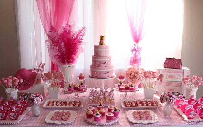 Inspire se com 100 mesas decoradas de aniversário infantil Filhos iG -> Decoração De Mesa De Aniversario Para Homens